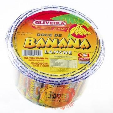 Banana Lanche Oliveira 600 grs.