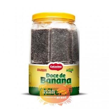 """Doce de Banana 1.3 kg  """" Gulosina """""""