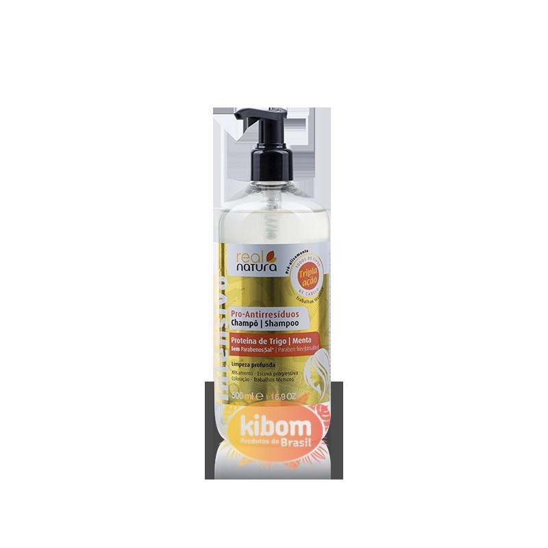 Shampoo Antirresíduos ''Real Natura''