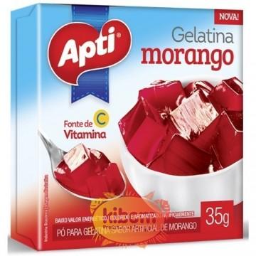 Gelatina Morango  Apti