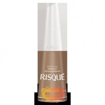 "Esmalte Risqué ""Ouro Nude"""