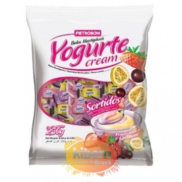 "Bala Yogurte Cream ""Pietrobon"" Sortidas 250g"