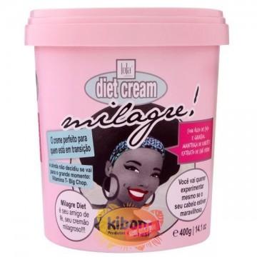 "Creme de Pentear Diet Cream Milagre ""Lola"" 400g."