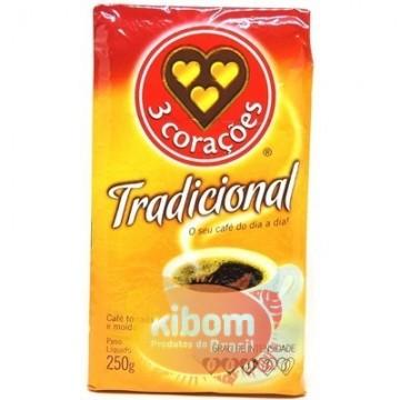 Café 3 coraçoes Tradicional 250g