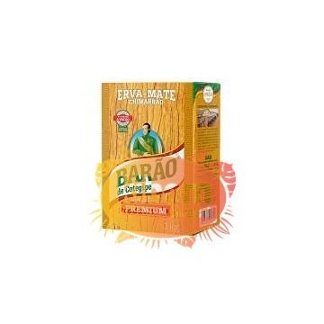"""Erva-Mate Chimarrao """"Barao"""" Premium 1kg"""