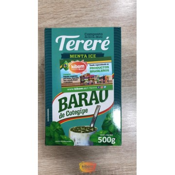 """Tereré Menta Ice """"Barao"""" 500g"""