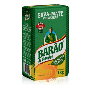 "Erva-Mate Chimarrao ""Barao"" Nativo 1kg"