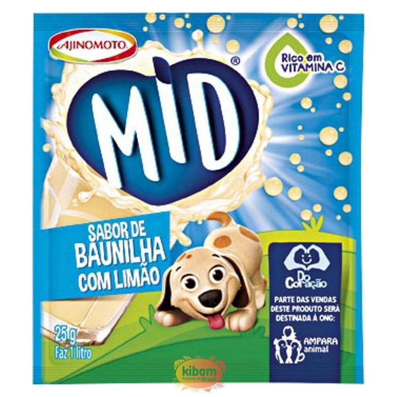 """Suco de Baunilha c/ Limao """"Mid"""""""