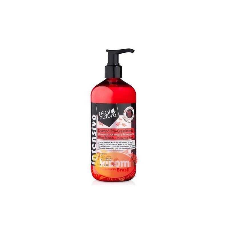 "Shampoo Pro-Crescimento 500ml ""Real Natura"""