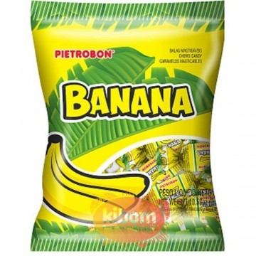 """Bala de Banana """"Pietrobon"""" 600g"""