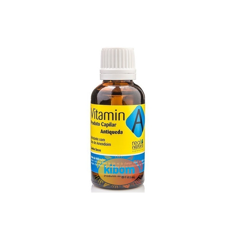 "Vitamina Capilar A 30ml ""Real Natura"""