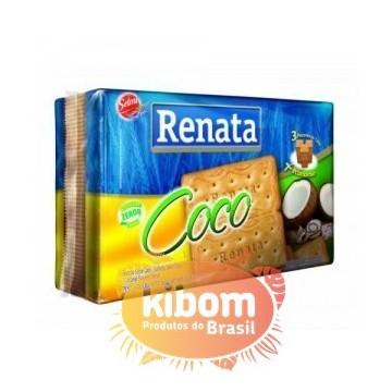 """Bolacha de Coco """"Renata"""" 360g"""