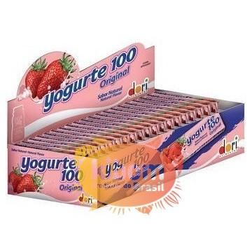 Pirulito Mastigável Yogurte 100 Original