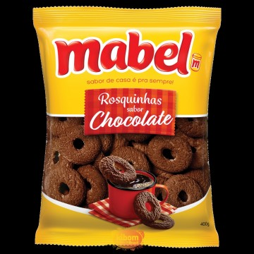 Rosquinha Mabel Chocolate 400 grs.