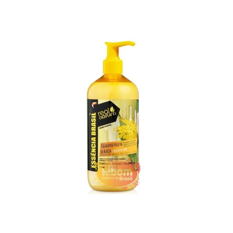"Shampoo Colageno Vegetal  "" Real Natura "" 500ml"