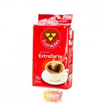 Café 3 Coraçoes Extra Forte 250g