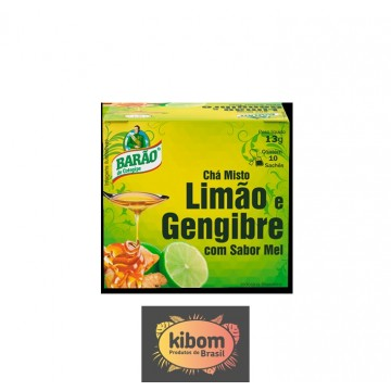 Chá Limao e Gengibre c/ Mel Barao 13g