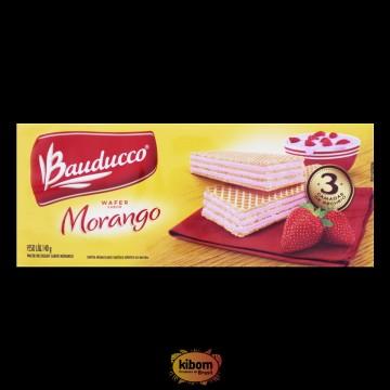 """Wafer de Morango """"Bauducco"""""""