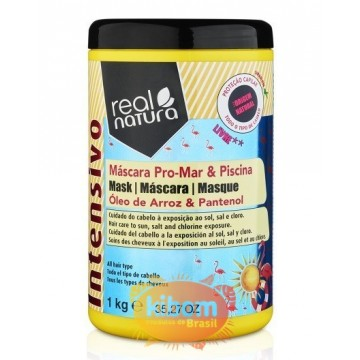 Mascara Real Natura Pro-Mar e Piscina 1kg