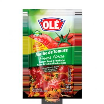 Molho de Tomate Ervas Finas Olé 340g
