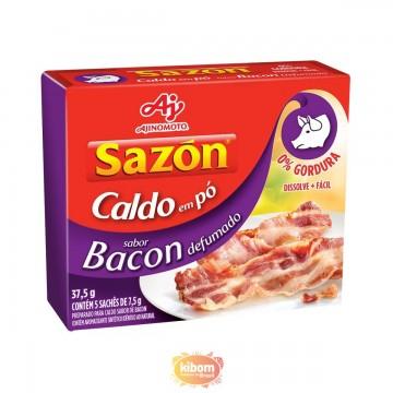 Caldo em Pó Sazon sabor Bacon