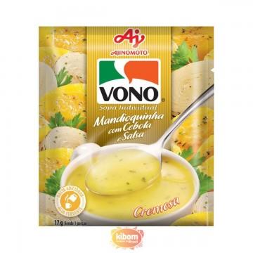 Sopa de Mandioquinha Vono 17g