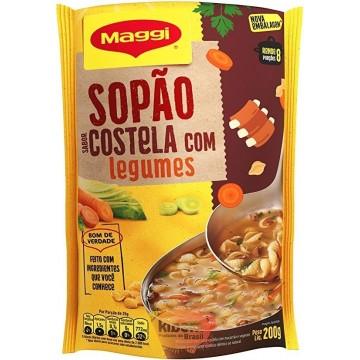 "Sopao ""Maggi"" sabor Costela com Legumes 200g"