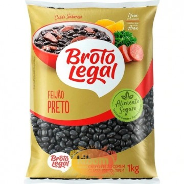 "Frijol Negro ""Broto Legal"" 1kg"