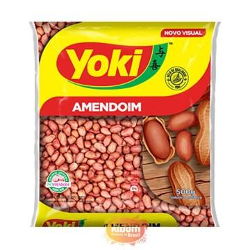 """Amendoim com Casca """"Yoki"""" 500g"""