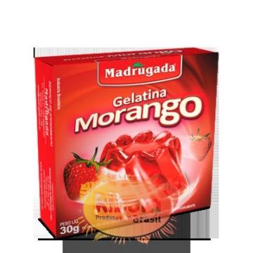 Gelatina Sabor Morango...