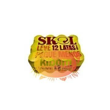 Cerveza Skol pack 12 latas