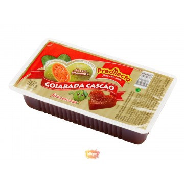 Dulce de Guayaba con trozos...