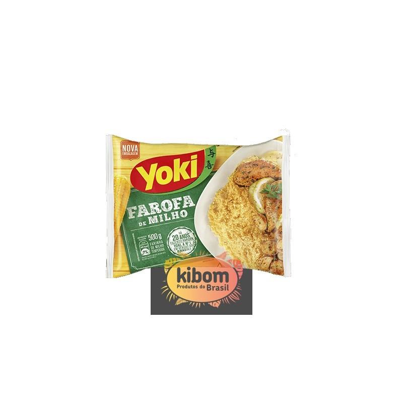 Farofa de milho ''Yoki''