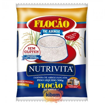 Flocao de Arroz ''Nutrivita''