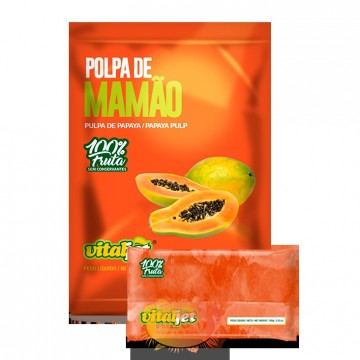 Pulpa de Papaya pura