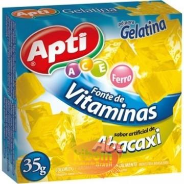 Gelatina Abacaxi  Apti