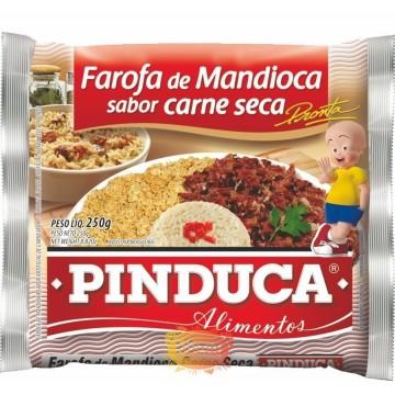 Farofa sabor Carne Seca Pinduca