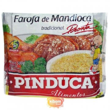 Farofa de Mandioca pronta Pinduca
