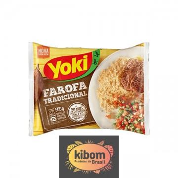 Farofa de Mandioca Pronta ''Yoki''